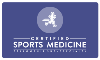 Certified Sports Medicine Fellowship Sub-Specialty