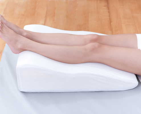 Smooth legs without veins